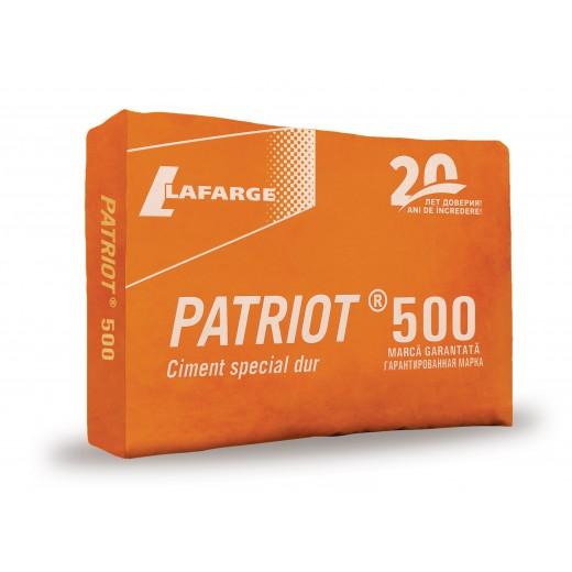 Ciment *   PATRIOT, M500, (CEM ALL- 42,5), 40 kg beton dur (40)
